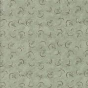 Moda - Prairie Grass - Holly Taylor - 6262 - Abstract Swirls on Sage Green - 6754 12 - Cotton Fabric